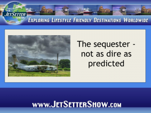 JetSetter Show PP Template with Border